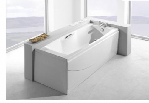 Carron Imperial 1500 x 700mm, Twin Grip, Single Ended Bath